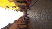 san miguel de allende, street scene, sunset, mexico sunset, sunset in san miguel