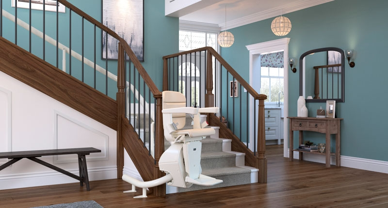 Best Stair Lifts Of 2020 With Costs Retirement Living | Outdoor Stair Contractors Near Me | Wood | Stair Railing | Metal | Trex | Spiral Staircase