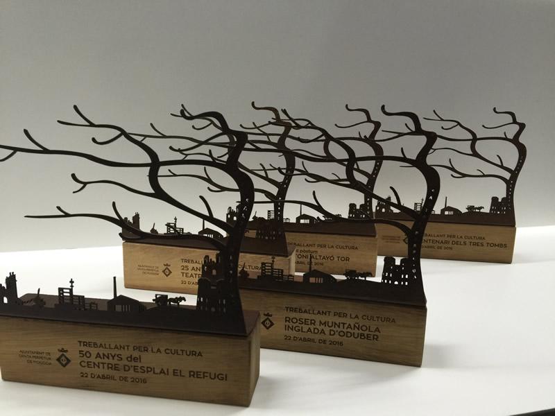 trofeos con diseño personalizado