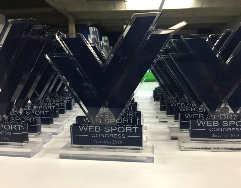 trofeos personalizados para eventos