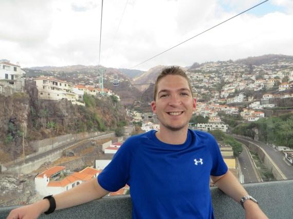 Funchal, Seilbahn nach Monte