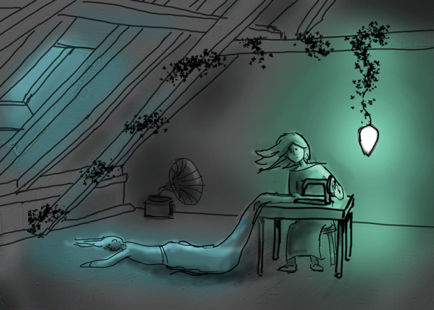 Final pre-production sketch