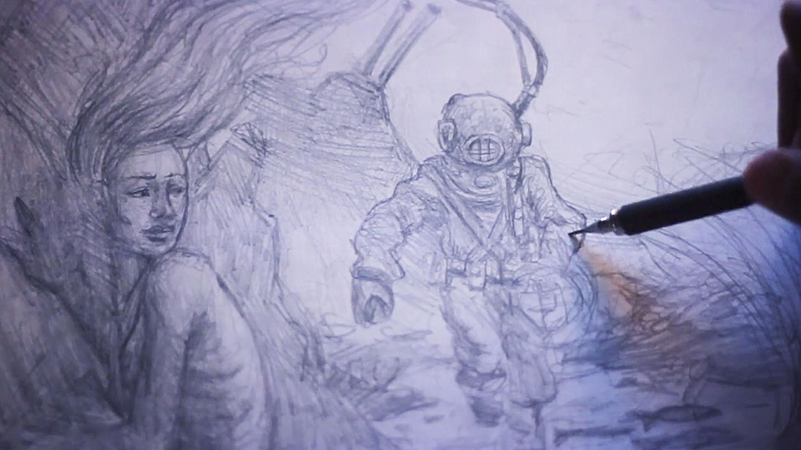 1_Retouching_Academy_LightFarmStudios_Mermaids_sketch_1