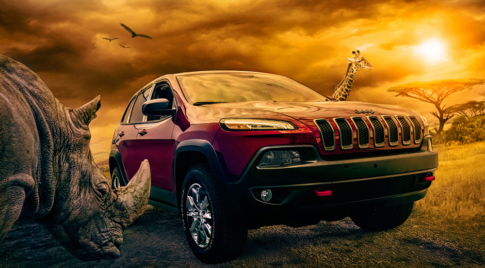 Safari Jeep Client: Chrysler Corporation (Jeep) Image by: Jeff Whitlock