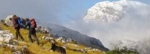 Gran Sasso , Abruzzo, alpiene bergreizen