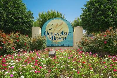 Ocean Isle Beach - Entrance