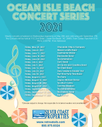 Ocean Isle Beach Announces Summer Concert Schedule