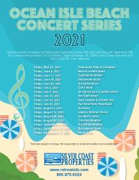 Ocean Isle Beach Concert Schedule