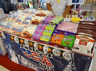 ners, marshmallows, instant potatoes taste of USA bangkok