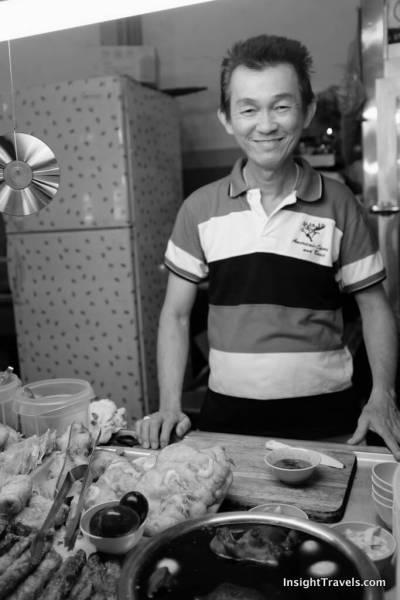 Lor Bak cook