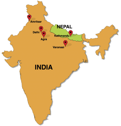 India Nepal retreat map revised PNG