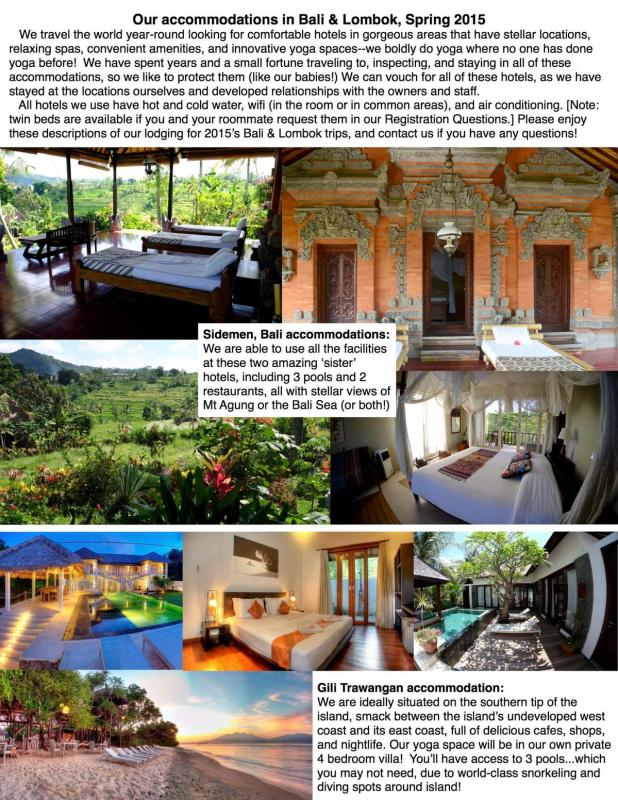 Bali 2015 accommodations sheet REVISED 1