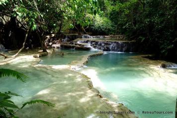 Kuang Si Waterfalls Luang Prabang Laos