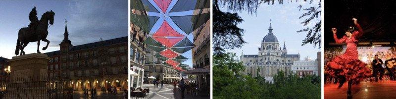 Visit Madrid on an Around the World trip