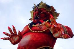 Another scary 2014 Ogoh-ogoh in Ubud.