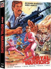 Ninja Operation 7 - Royal Warrior (Secret of the Lost Empire) - Mediabook - Cover C - Limited Edition (+ DVD) [Blu-ray]