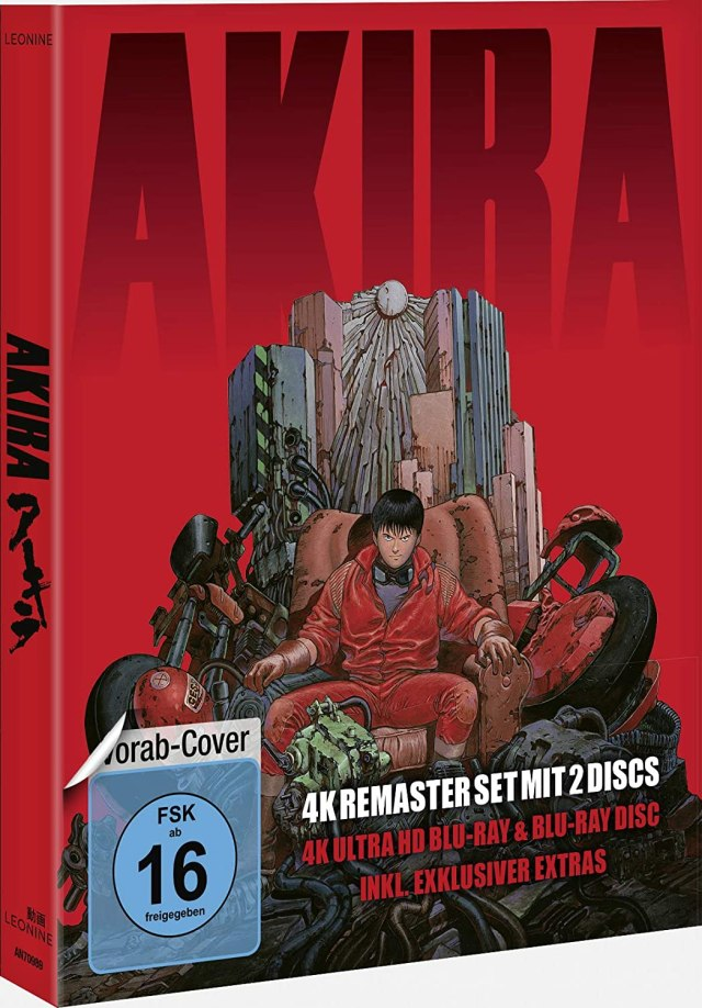Akira - Limited Edition (4K Ultra HD + Blu-ray 2D)