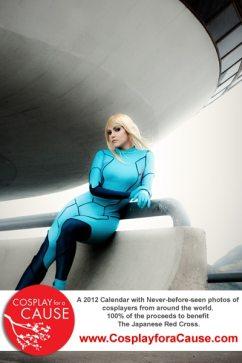 Cosplay sexy de Samus Aran de Metroid