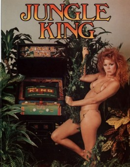 pub macho pour borne arcade jungle king