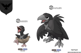 corbeau game de nuit nights watch game of thrones en version pokémon