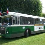Un ancien bus parisien de la Petite Ceinture (PC)