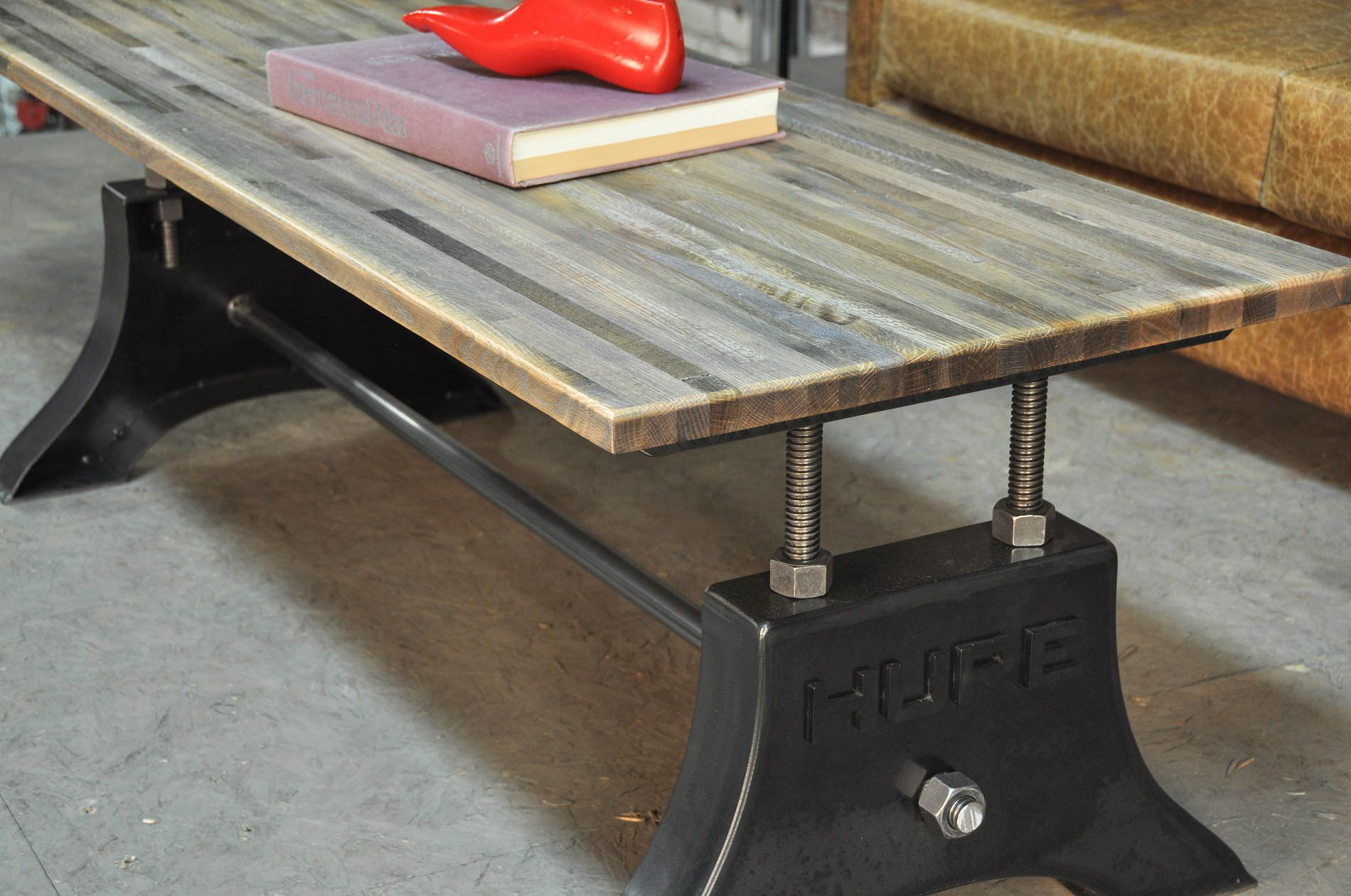 Hure Coffee Table Vintage Industrial Furniture