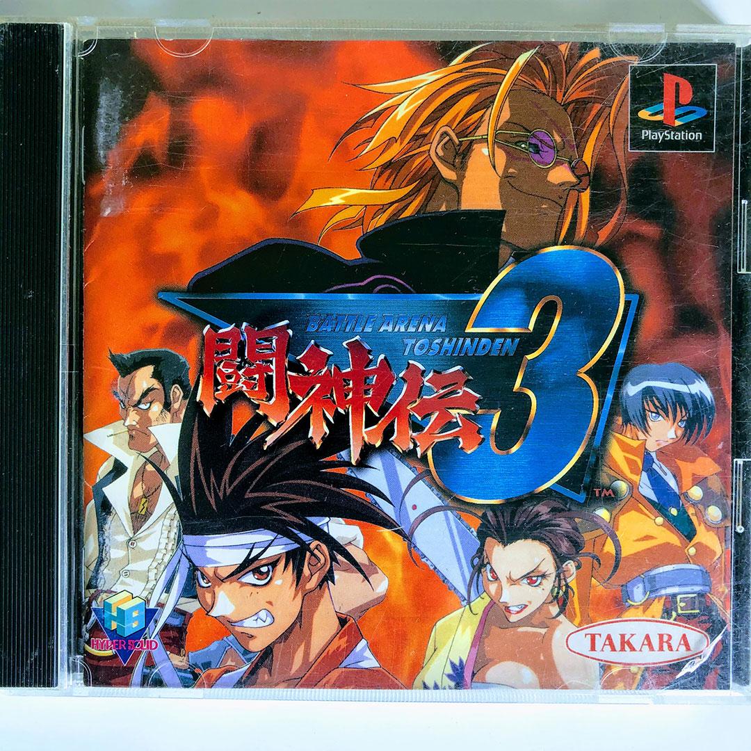 Battle Arena Toshinden 3 Ps1 Japan Import Retrobit Game