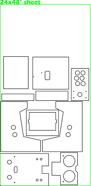 how to build an arcade cabinet plans