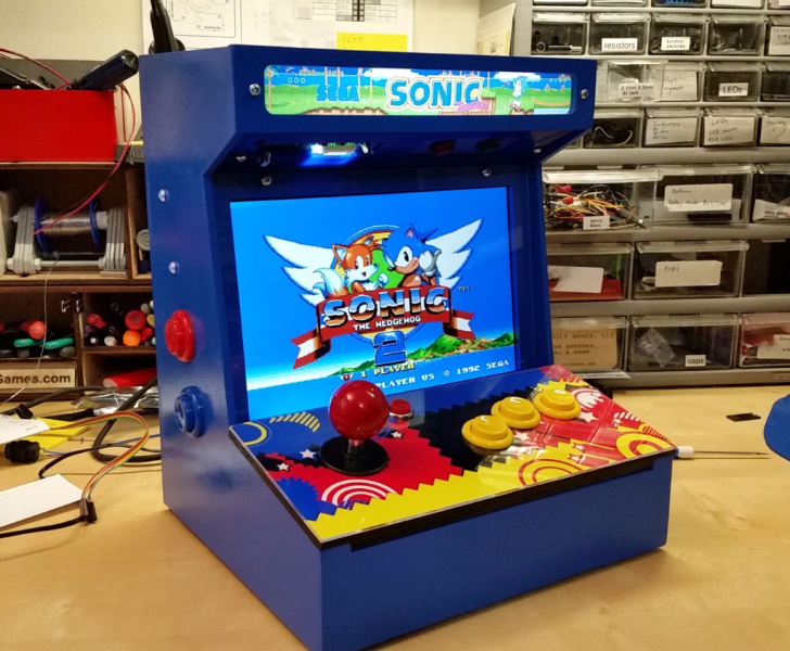 DIY Arcade Cabinet Kits   more    The Build Page Do It Yourself Arcade Gaming