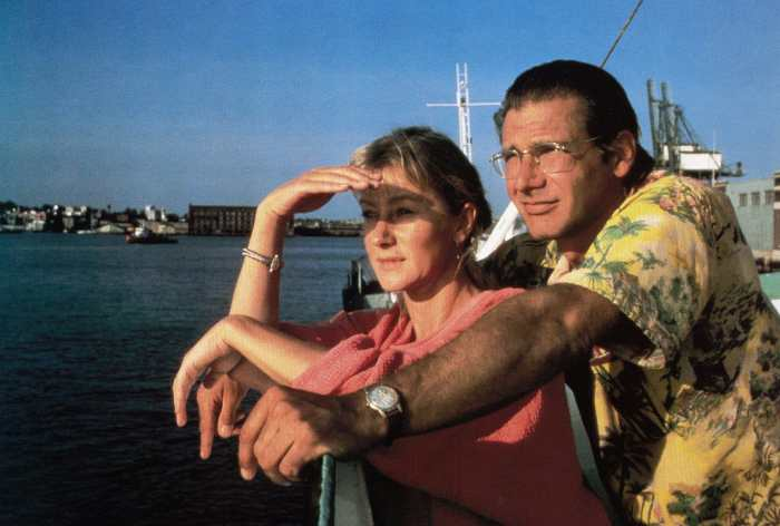 THE MOSQUITO COAST, from left: Helen Mirren, Harrison Ford