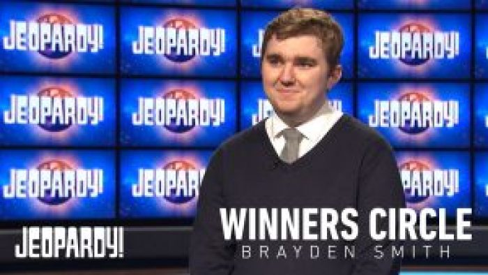 Brayden Smith won Jeopardy! five times while pursuing interests in a variety of subjects, the biggest of all being law