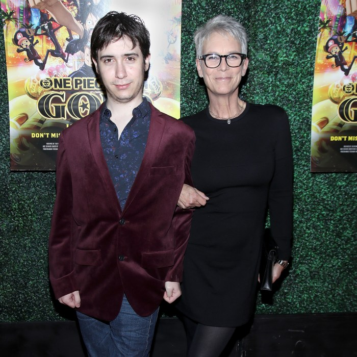 jamie lee curtis and son thomas guest