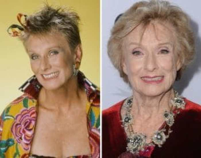 Cloris Leachman in The Facts of Life and today