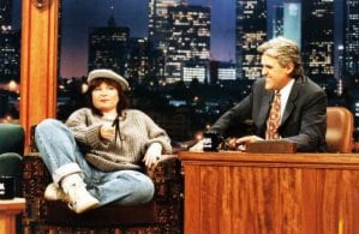 Roseanne Barr on the Tonight Show