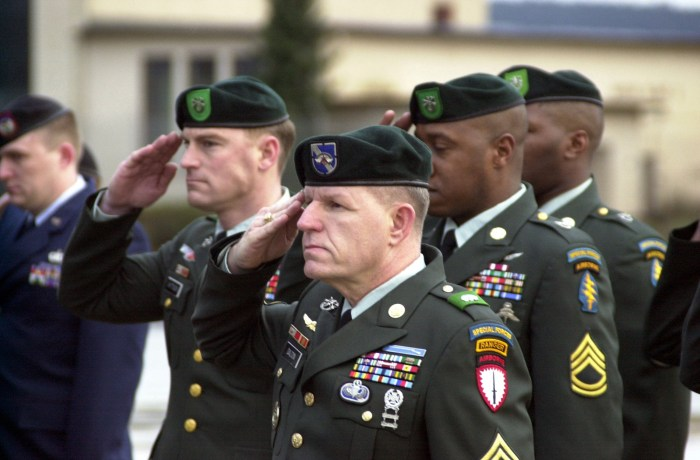 Female U.S. Army Soldier Becomes First Woman To Become A Green Beret