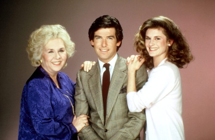 doris-roberts-pierce-brosnan-stephanie-zimbalist-remington-steele