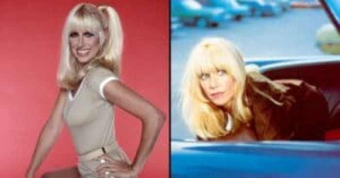 Popular bombshell Suzanne Somers