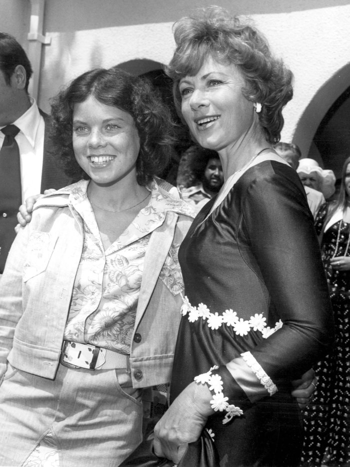 Erin Moran and Marion Ross