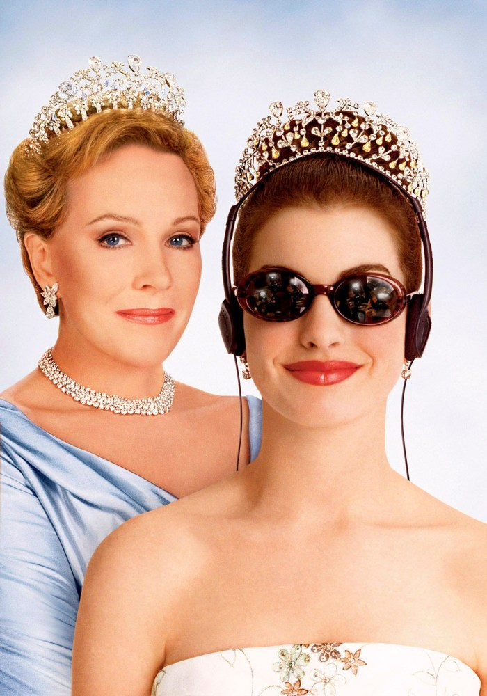 the princess diaries julie andrews anne hathaway