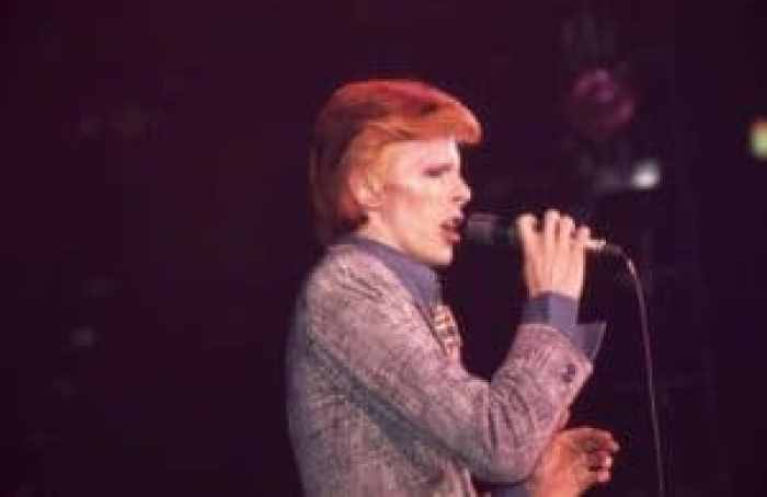 David Bowie composed an album during global international hardships, including for the label