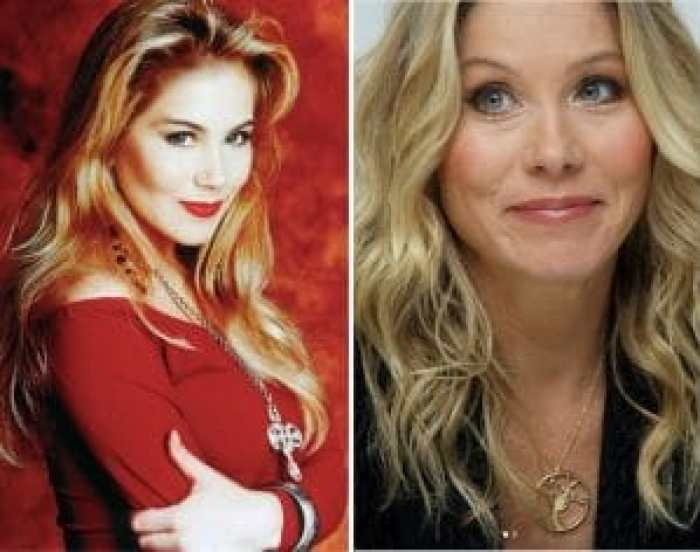 Christina Applegate as Kelly Bundy and today