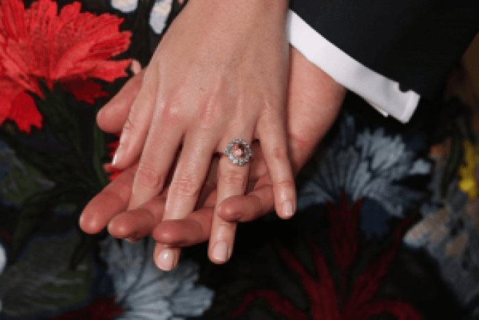 Princess Eugenie's stone is unique among engagement rings worn by the British Royal Family