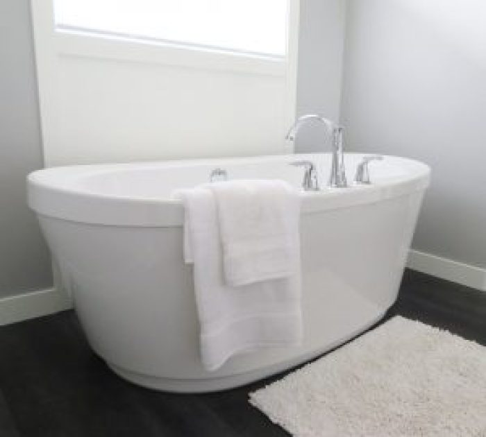 Kitchens are nice. Bathtubs are nice. The two together are...unexpected