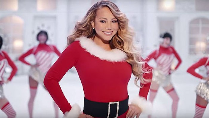 mariah carey's twins appear in new christmas music video