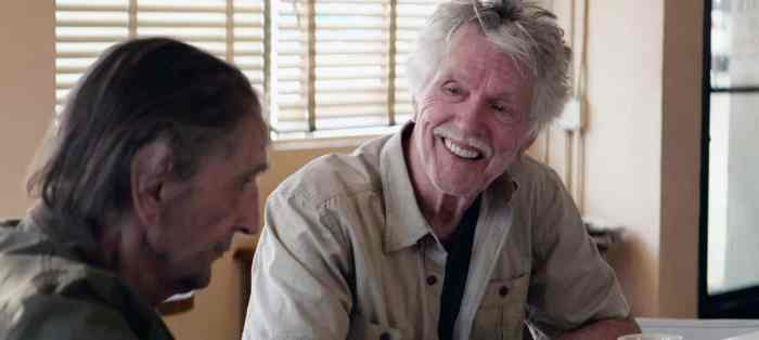 LUCKY, from left: Harry Dean Stanton, Tom Skerritt