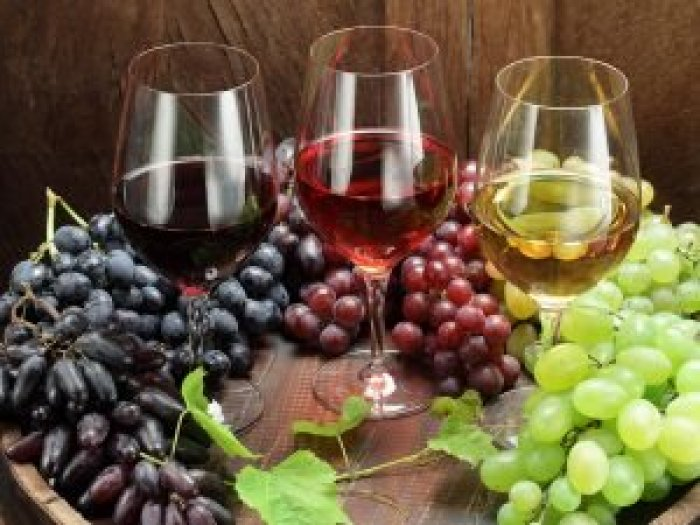 Because wine production and distribution takes time, the overabundance can't be fully scaled back yet