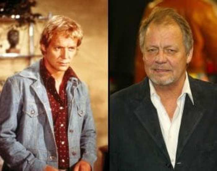 David Soul as Starsky and celebrating the new Starsky and Hutch
