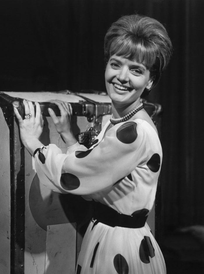florence henderson in the 1950s