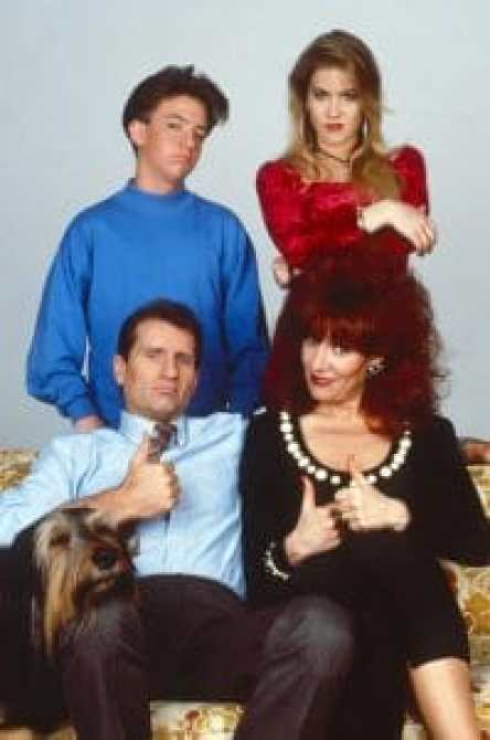 MARRIED...WITH CHILDREN, clockwise from top left: David Faustino, Christina Applegate