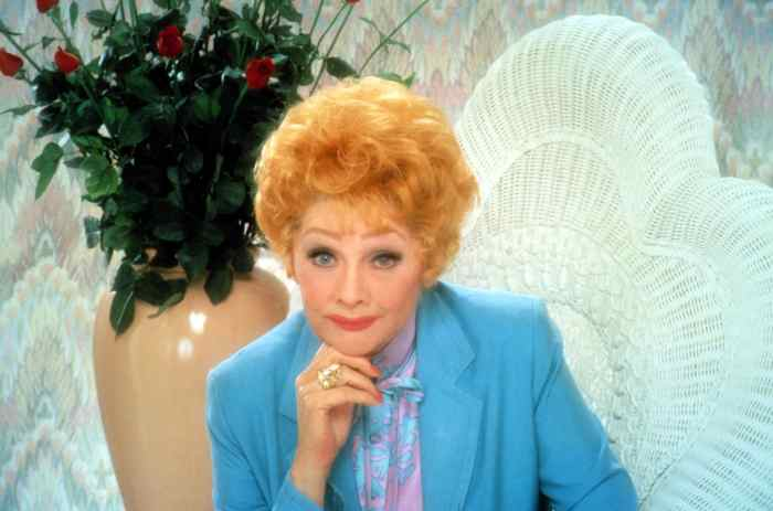 LIFE WITH LUCY, Lucille Ball, 1986